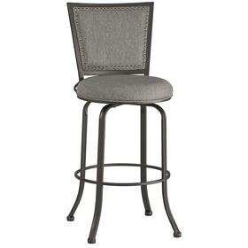 Belle Grove Commercial Grade Swivel Counter Stool - Ash