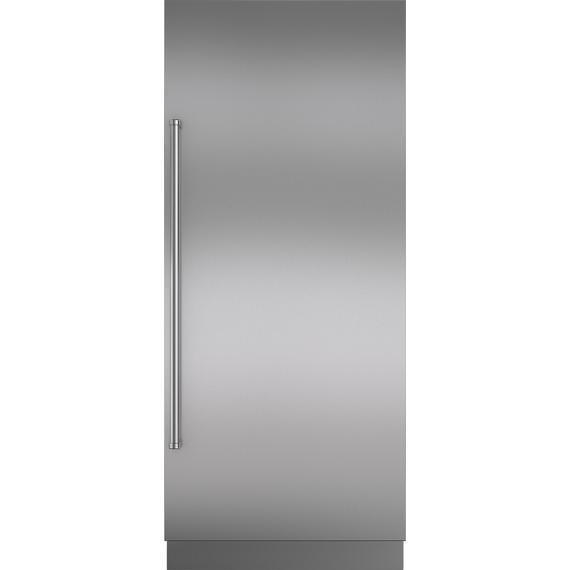 "Sub-Zero - Stainless Steel Door Panel wtih Pro Handle and 6"" Toe Kick - RH"