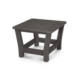 Polywood Furnishings - Harbour Slat End Table in Vintage Coffee