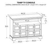 TS46P Custom TV Console Product Image