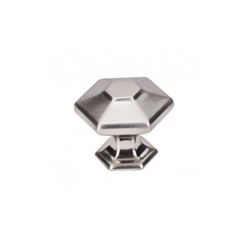 Spectrum Knob 1 1/4 Inch - Brushed Satin Nickel