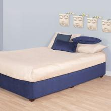 See Details - Queen Boxspring Cover Bella Royal (Cover Only)