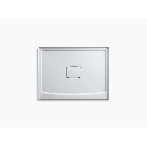 """Kohler - White 48"""" X 36"""" Single Threshold Center Drain Shower Base With Removable Cover"""