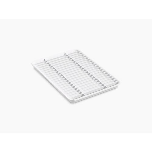 White Multipurpose Grated Rack