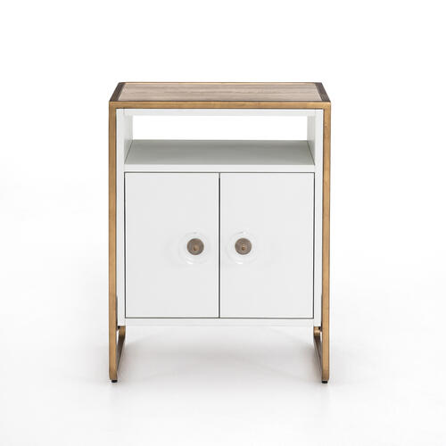 Sorella Nightstand-bright White