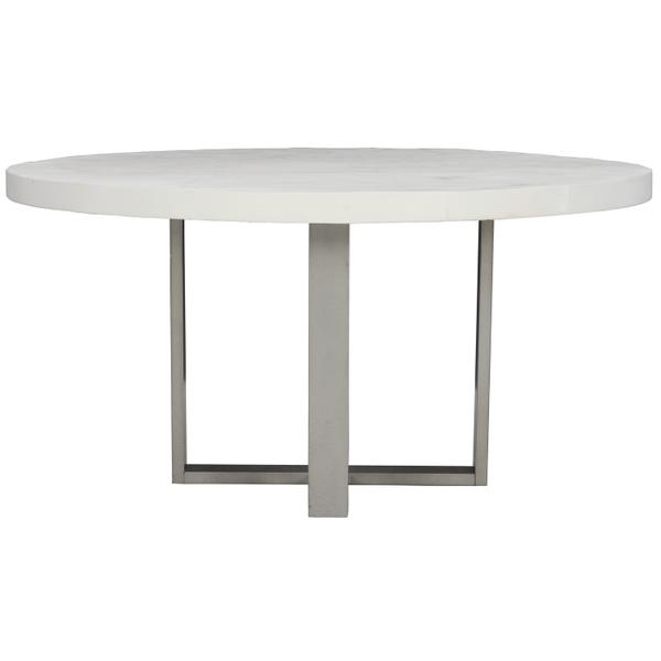 See Details - Merrion Round Dining Table in Bone