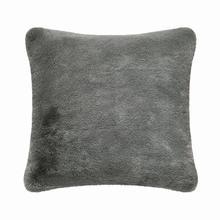 Fun Fur Short Hair Cushion - Grey