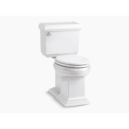 Biscuit Two-piece Elongated 1.28 Gpf Chair Height Toilet