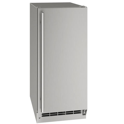"Ocl115 / Ocp115 15"" Clear Ice Machine With Stainless Solid Finish, No (115 V/60 Hz Volts /60 Hz Hz)"