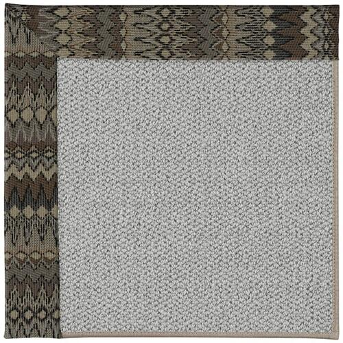 "Inspire-Silver Chike Taupe - Rectangle - 18"" x 18"""