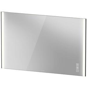 Duravit - Mirror With Lighting, Black Matte