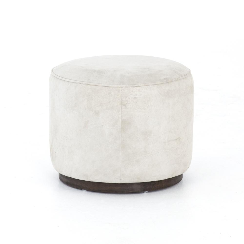 Whistler Oyster Cover Sinclair Round Ottoman