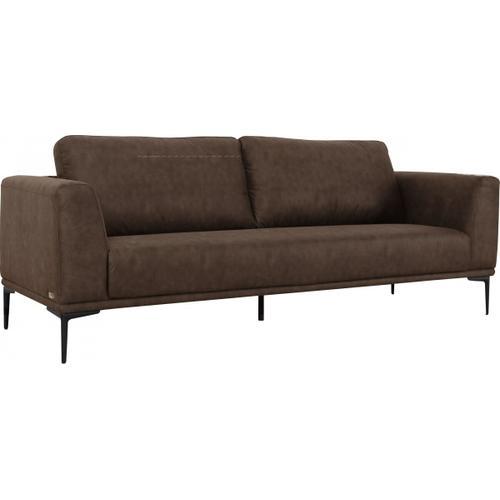 VIG Furniture - Divani Casa Jada - Modern Brown Fabric Sofa