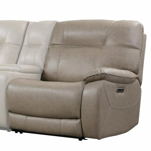 AXEL - PARCHMENT Power Right Arm Facing Recliner