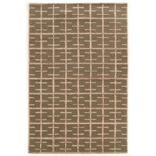 See Details - Aspire Wool Tetris Taupe/ Taupe 2x3