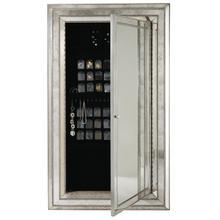 See Details - Melange Glamour Floor Mirror w/Jewelry Armoire Storage