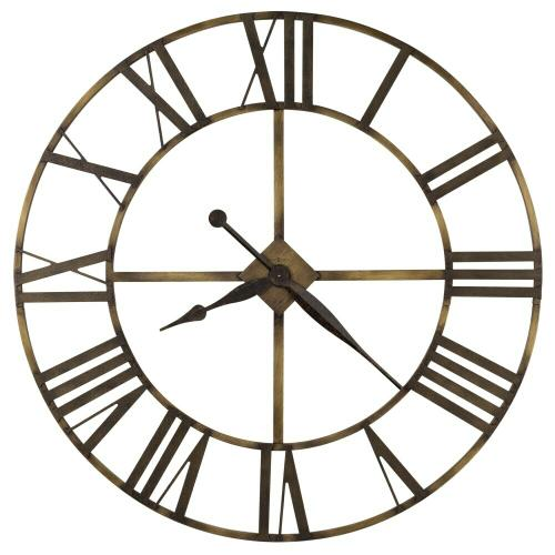 Howard Miller Wingate Oversized Iron Wall Clock 625566