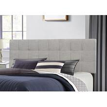 Delaney Full/queen Upholstered Headboard, Glacier Gray