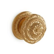Antique Gold Louis XVI Door Knob - Large