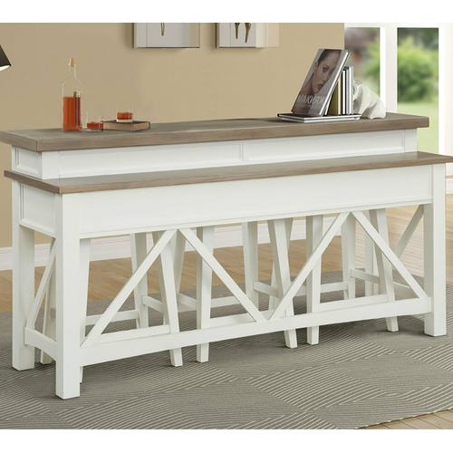 Parker House - AMERICANA MODERN - COTTON Everywhere Console with 3 Stools