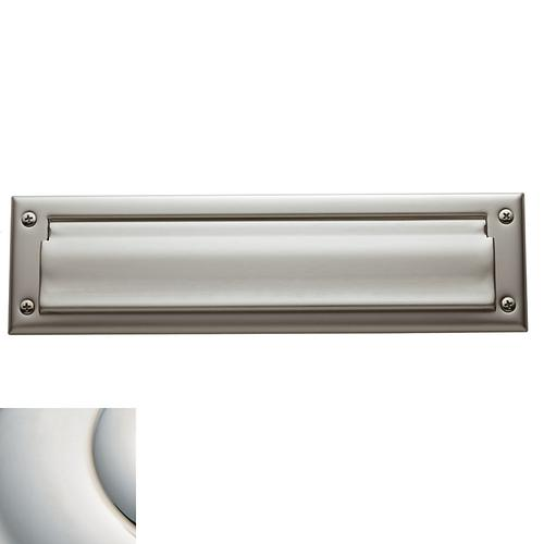 Polished Nickel with Lifetime Finish Letter Box Plates