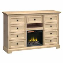 See Details - FT63F Extra Tall Fireplace Custom TV Console