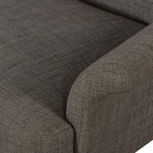 Zumi Swivel Chair-highland Charcoal