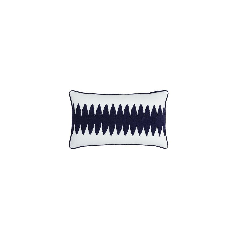 Adrian Pillow Cover Navy