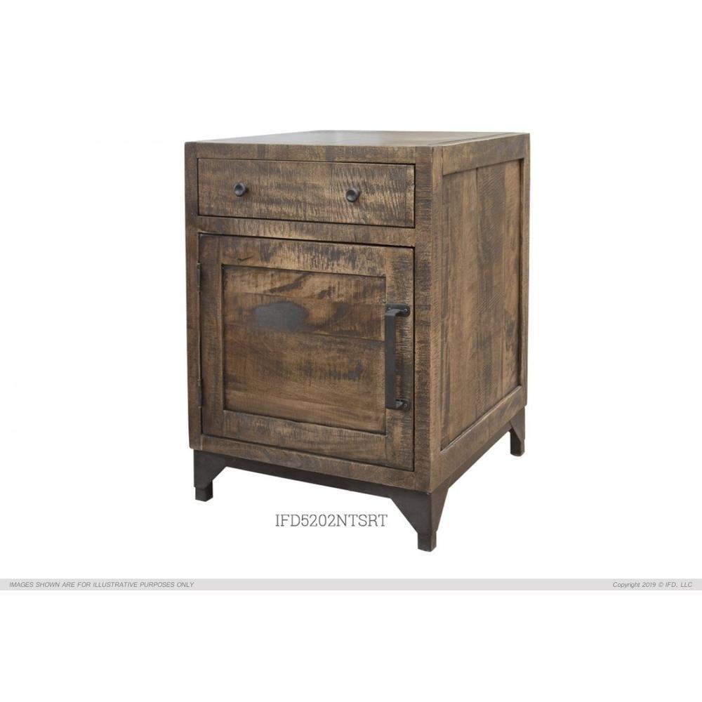 1 Drawer & 1 Door Right Night Stand