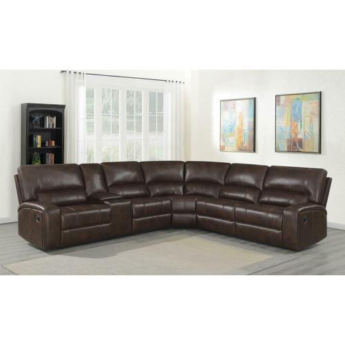 Coaster - 3 PC Motion Sectional