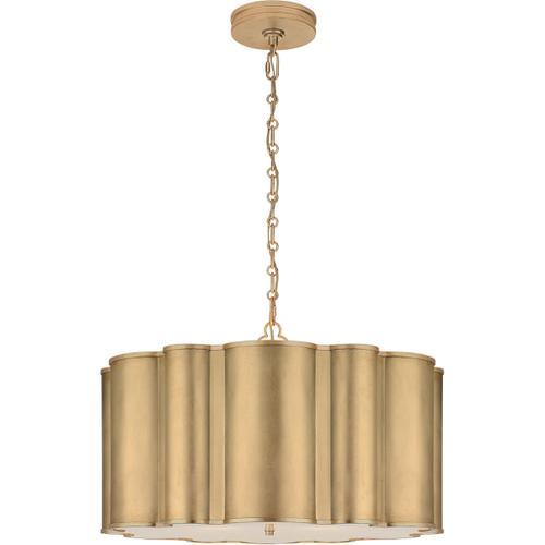 Alexa Hampton Markos 4 Light 26 inch Gild Pendant Ceiling Light, Large