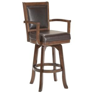 Ambassador Swivel Bar Height Stool