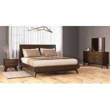 View Product - Modrest Novak - Modern Dark Oak Bedroom Set