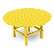 "Lemon Round 38"" Conversation Table"