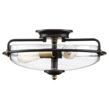 View Product - Griffin Flush Mount in Palladian Bronze