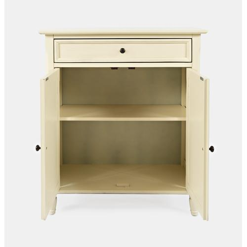 Avignon Ivory Accent Cabinet