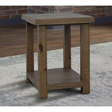 See Details - LAPAZ Chairside Table