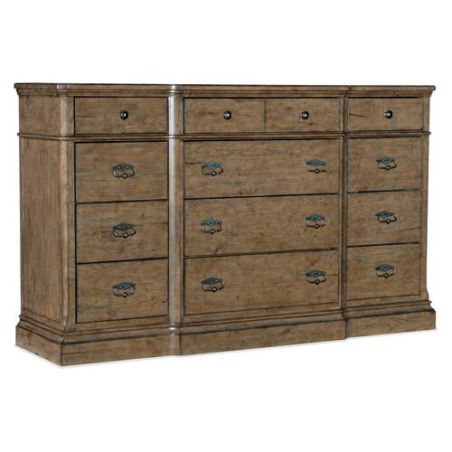 Hooker Furniture - Montebello Twelve-Drawer Dresser