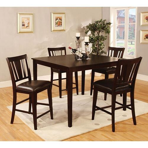 Bridgette II 5 Pc. Counter Ht. Table Set