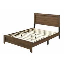 ACME Miquell Eastern King Bed - 28047EK - Transitional - Veneer (Paper, LVB), PB, MDF, Chipboard - Oak
