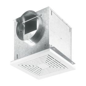 Broan® LOSONE SELECT 109 CFM High Capacity Ceiling Mount Ventilation Fan, 0.9 Sones
