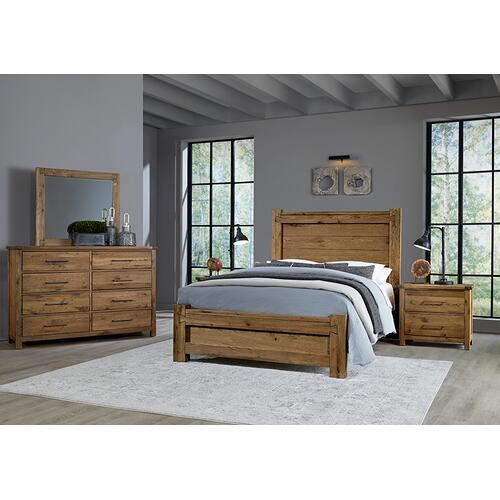 Vaughan-Bassett - Queen Poster Bed with Poster FB