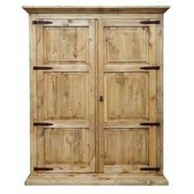 See Details - Armoire W/ Full Hideaway Bed