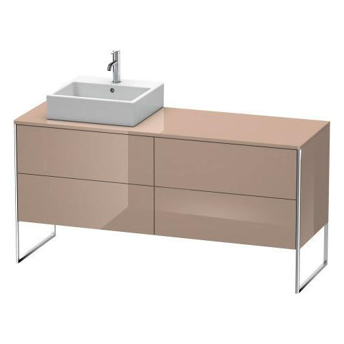 Product Image - Vanity Unit For Console Floorstanding, Cappuccino High Gloss (lacquer)