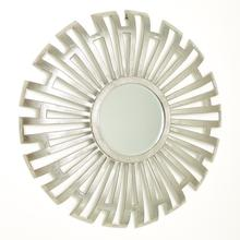 See Details - Radial Cut-Out Mirror-Nickel