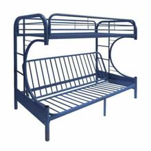 ACME Eclipse Twin XL/Queen/Futon Bunk Bed - 02093BU - Blue