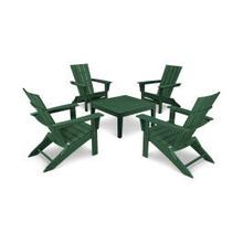 View Product - Quattro 5-Piece Conversation Set in Green