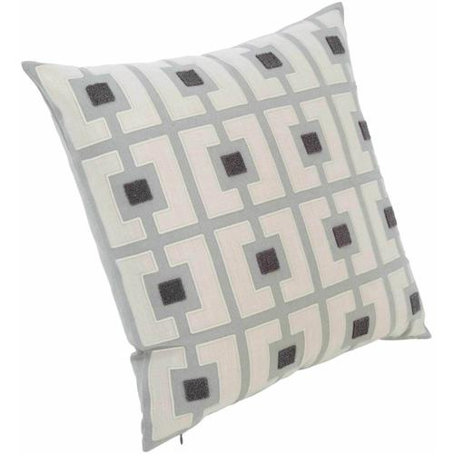 """Luxe Pillows Boucle Embroidered Squares (22"""" x 22"""")"""
