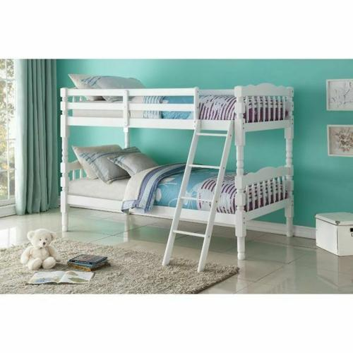Acme Furniture Inc - ACME Homestead T/T Bunk Bed - HB/FB - 02298 - White