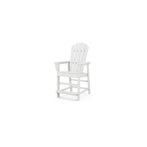 Polywood Furnishings - South Beach Counter Chair in White